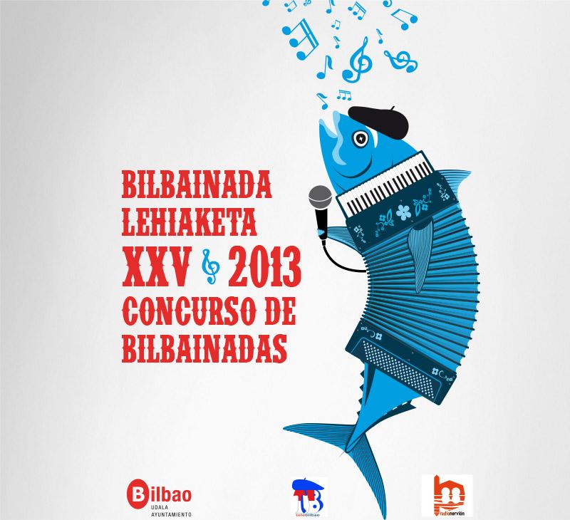 "Ayo. de Bilbao – Cartel ""Concurso de bilbainadas 2013"""