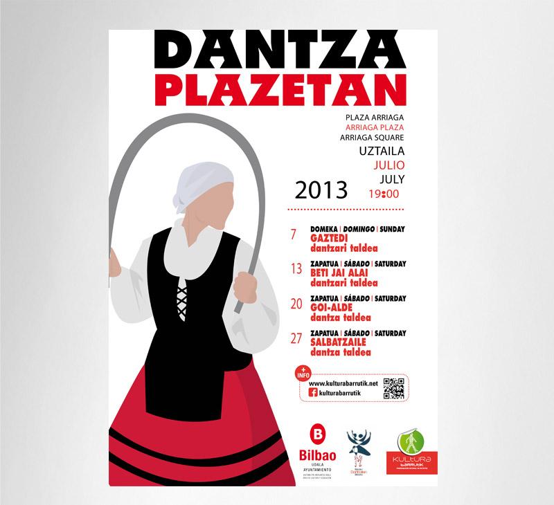 "Ayuntamiento de Bilbao – ""Dantza Plazetan"" 2013"
