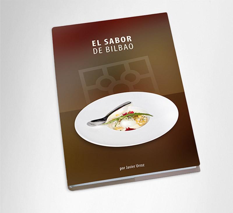 """Diseño editorial – """"El sabor de Bilbao"""""""