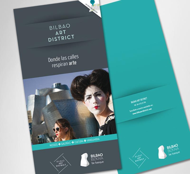 Ayto. de Bilbao – Folleto Art District, 2014