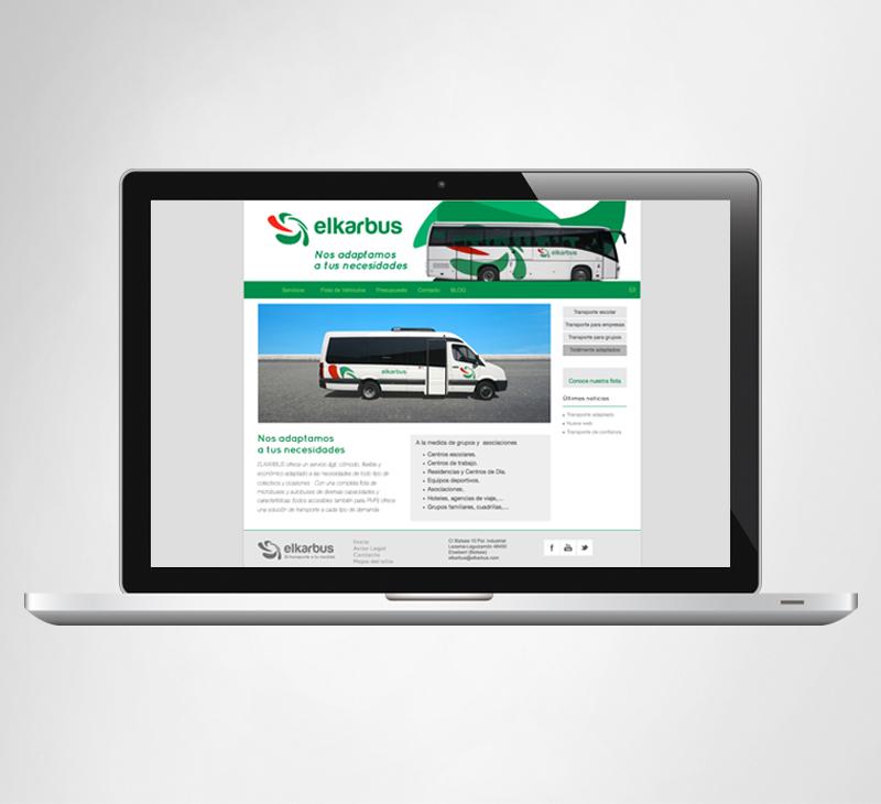 Web site Elkarbus