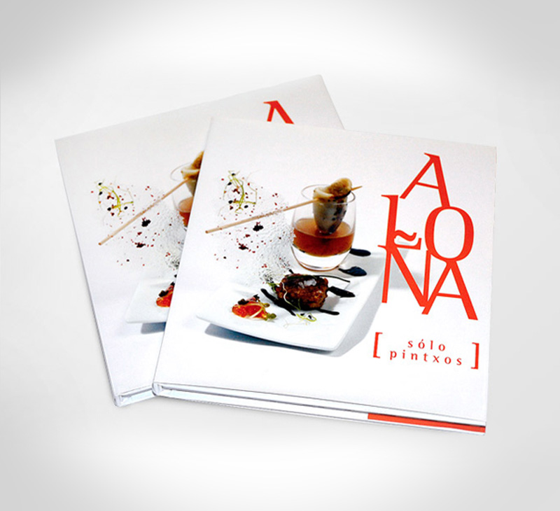 "Diseño editorial – ""Bar Aloña"""