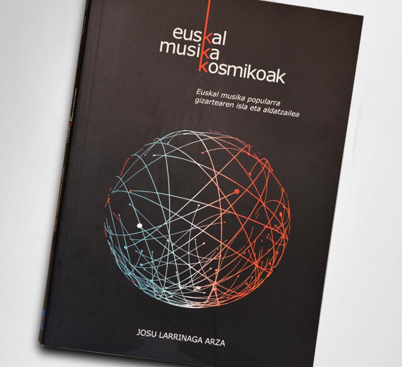 """Diseño y maquetación del libro """"Euskal Musikoa Kosmikoa"""""""