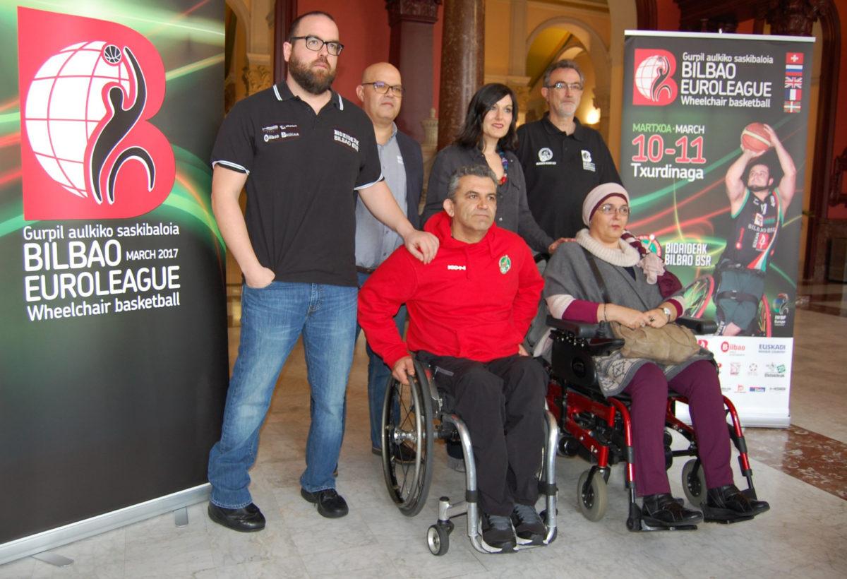 Presentación Euroleague del Bidaideak Bilbao BSR