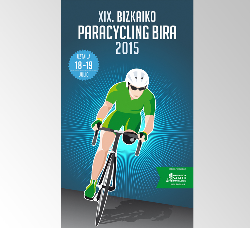 Bidaideak – Carteles Paracycling Bira 2015