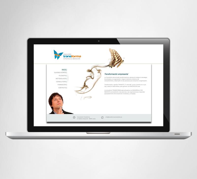 Web site Transforma Consultoría