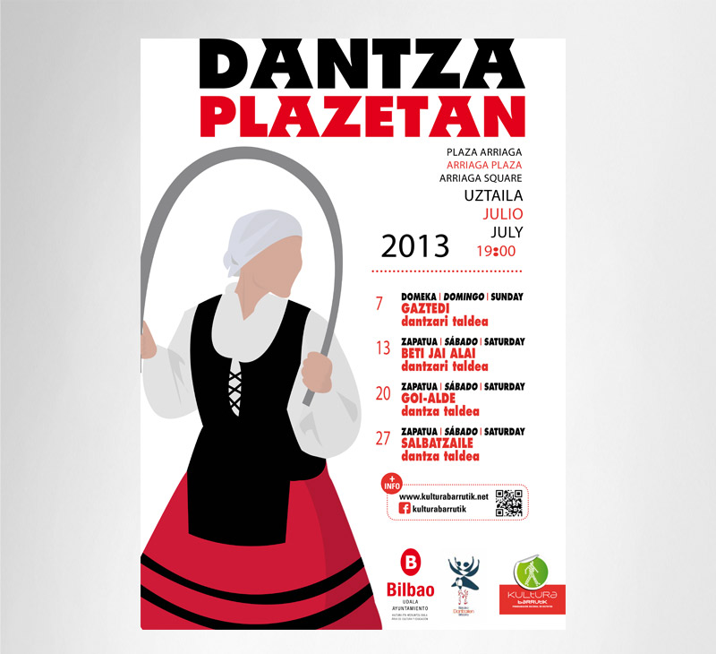 Ayuntamiento de Bilbao – «Dantza Plazetan» 2013