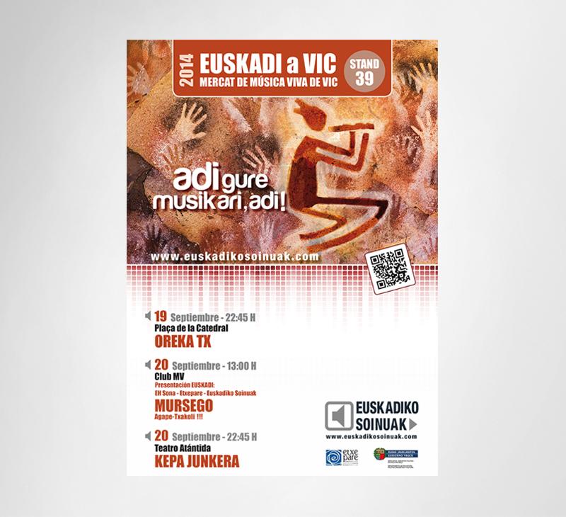 Euskadiko Soinuak – Carteles