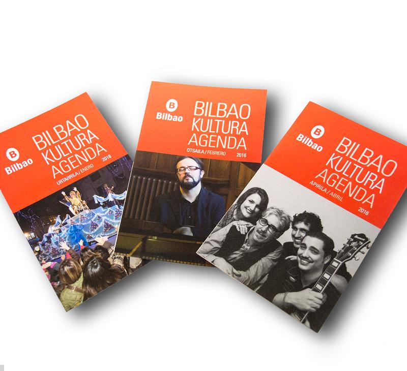 Ayuntamiento de Bilbao – Agenda cultural 2016