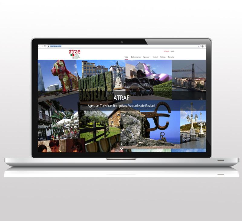 Diseño de pagina web: Atrae